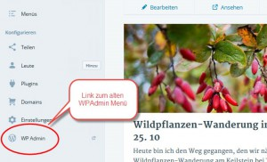 Die neue WordPress-Navigation